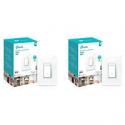 Deals List: 2-Pack TP Link HS220 Smart Dimmer Switch