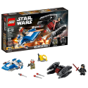 Deals List: LEGO Star Wars: The Last Jedi A-Wing vs. TIE Silencer Microfighters 75196 Building Kit (188 Piece)