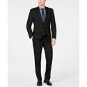Deals List: Van Heusen Men's Slim-Fit Flex Stretch Black Solid Suit