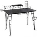 Deals List: Bush Furniture Cabot L Shaped Computer Desk in Espresso Oak