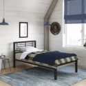 Deals List: YourZone Kids' Metal Platform Bed, Multiple Sizes, Multiple Colors