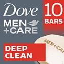 Deals List: Dove Men+Care Deep Clean Body and Face Bar 4 oz, 10 Bar