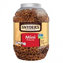 Deals List: 2-Pack Snyders of Hanover Mini Pretzels Canister 40oz