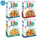 Deals List: Quaker Life Breakfast Cereal, 3 Flavor Variety Pack (4 Boxes)