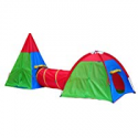 Deals List: Giga Tent Action Dome and Teepee with Tunnel Play Tent Set