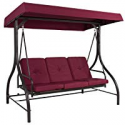 Deals List: BCP 3-Seat Outdoor Canopy Swing Glider Furniture w/Flatbed Backrest