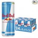 Deals List: Red Bull Energy Drink Sugar Free, Sugarfree, 8.4 Fl Oz (24 Count)