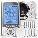Deals List: Auvon Rechargeable Tens Unit Muscle Stimulator Famliy Pack