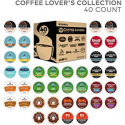 Deals List: Green Mountain Coffee Keurig Coffee Lover's Variety Pack Single-Serve K-Cup Sampler, 40 Count