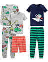 Deals List: Simple Joys by Carter's Baby, Little Kid, and Toddler Boys' 6-Piece Snug Fit Cotton Pajama Set