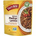 Deals List: Tasty Bite Indian Entree Madras Lentils 10 Ounce (Pack of 6), Fully Cooked Indian Entrée with Lentils Red Beans & Spices in a Creamy Tomato Sauce, Microwaveable, Ready to Eat