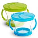Deals List: Munchkin Snack Catcher, 2 Pack, Blue/Green