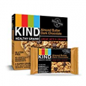 Deals List: KIND Healthy Grains Granola Bars, Almond Butter Dark Chocolate, Gluten Free, 1.2 oz, 40 Count