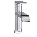 Deals List: Moen 6702 Genta One-Handle Single Hole Modern Bathroom Sink Faucet with Optional Deckplate, Chrome