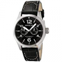 Deals List: Invicta II Men's 0764 Stainless Steel Watch with Black Leather Band