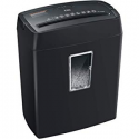 Deals List: Bonsaii 6-Sheet Cross-Cut Paper Shredder, High-Security P4 Home Office Shredders with 3.5 Gallons Wastebasket Capacity and Large Transparent Window, Black (C204-C)