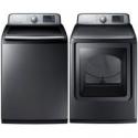 Deals List: Samsung WA50M7450PPR Top Load Washer & Dryer Set