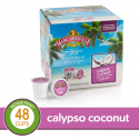 Deals List: Calyspo Coconut for K-Cup Keurig 2.0 Brewers, 48 Count, Margaritaville Coffee Medium Roast Single Serve Coffee Pods