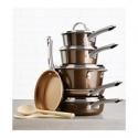 Deals List: Ayesha Curry 12-Pc. Porcelain Enamel Non-Stick Cookware Set