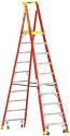 Deals List: Werner 10-ft Fiberglass Type 1A 300 lbs. Capacity Step Ladder