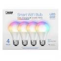 Deals List: 4 Pack FEIT WiFi Smart Bulbs