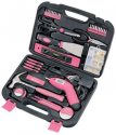 Deals List: Apollo Tools DT0773N1 Household Tool Kit, Pink, 135-Piece, Donation Made to Breast Cancer Research