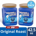 Deals List: 2-Pack Maxwell House Original Medium Roast Ground Coffee 42.5 oz