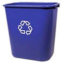 Deals List: Rubbermaid FG295673 Medium Deskside Recycling Container 7-Gal