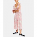 Deals List: Free People Forever Always Printed Tie-Cuff Dress