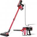 Deals List: MOOSOO Vacuum Cleaner Corded Stick Vacuum with HEPA Filter 17Kpa Powerful Suction 2 in 1 Handheld Vacuum for Hard Floor D600