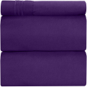 Deals List: Twin XL Sheet Set - 3 Piece - College Dorm Room Bed Sheets - Hotel Luxury Bed Sheets - Extra Soft Sheets - Deep Pockets - Easy Fit - Breathable & Cooling Sheets – Bed Sheets - Twin - Twin XL Bed Sheet