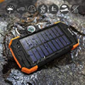 Deals List: Blavor 10,000mAh Solar Power Bank Qi Portable Charger