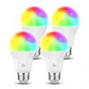 Deals List: 4-Pack AL Above Lights Dimmable E26 9W Wi-Fi LED Bulb 2700K