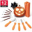 Deals List: Comfy Mate 12 PCS Pumpkin Carving Kit Tools