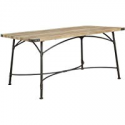 Deals List: ACME Itzel Dining Table in Sandy Gray and Antique Oak