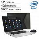 "Deals List: ASUS C423NA 14"" FHD Chromebook (Celeron N3350, 4GB, 32GB) + Bonus Mouse & Sleeve"