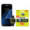 Deals List: Straight Talk Galaxy S7 32GB Gear Watch Bundle w/$45 Service Plan