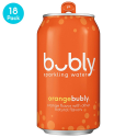 Deals List: bubly Sparkling Water, Orange, 12 Fluid Ounces cans (18 Pack)