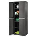 Deals List: Sterilite, 4 Shelf Cabinet, Flat Gray