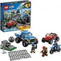 Deals List: LEGO City Dirt Road Pursuit 60172 Building Kit (297 Pieces)
