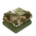 Deals List: Mainstays Fleece Plush Throw Blanket, Set of 2, Camo