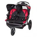 Deals List: Baby Trend Navigator Lite Double Jogger Stroller, Candy Apple