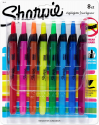 Deals List: Sharpie 28101 Accent Retractable Highlighters, Chisel Tip, Assorted Colors, 8-Count