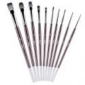 Deals List: 10-Pcs Tdbest Paint Brushes Set for Acrylic Oil Watercolor