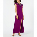 Deals List: Adrianna Papell Sequin-Illusion Slit Gown
