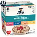 Deals List: Quaker Instant Oatmeal Fruit & Cream 4 Flavor Variety 48-Ct