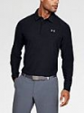 Deals List: Men's UA Playoff Long Sleeve Polo in Black/Graphite