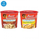 Deals List: Aunt Jemima Pancake Cups, 2 Flavor Variety Pack, 12 Individual Cups