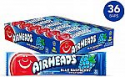 Deals List: Airheads Candy, Individually Wrapped Full Size Bars for Halloween, Blue Raspberry, Bulk Taffy, Non Melting, Party, 0.55 Ounce (Pack of 36)