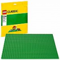 Deals List: EGO Classic Green Baseplate Supplement for Building, Playing, and Displaying LEGO Creations, 10 x 10 inches, Large Building Base Accessory for Kids and Adults